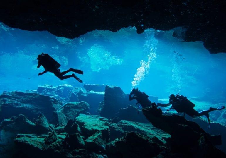 Hilfsmittel gegen die Ängste unter Wasser