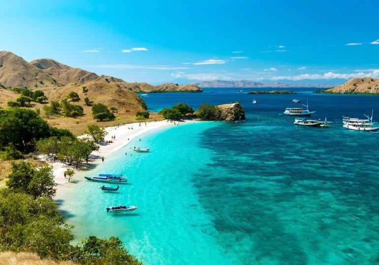 Tauchen im Nationalpark Komodo, Indonesien