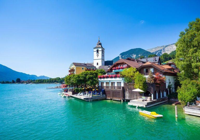 Tauchen im österreichischen Wolfgangsee