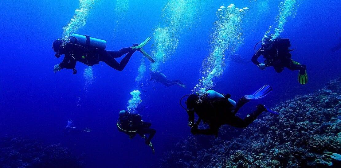 Tauchversicherung für den Schutz in internationalen Gewässern