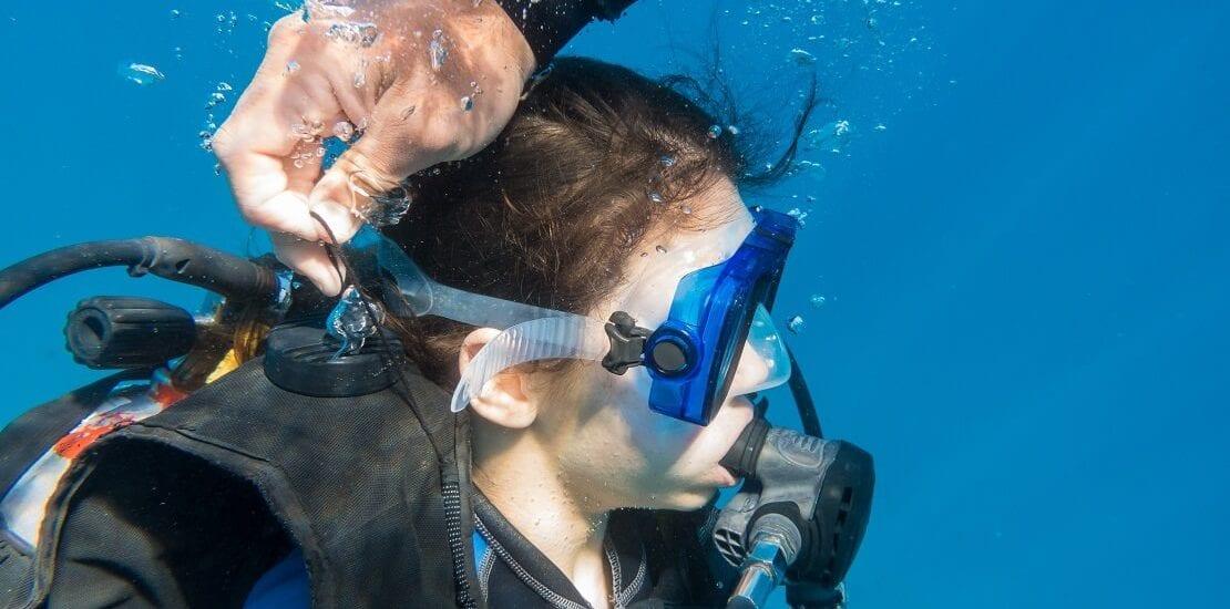 Unter Wasser das Jacket richtig tarieren