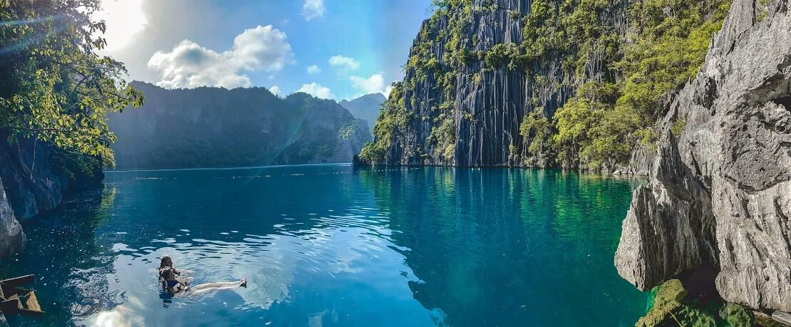 Tauchen bei den unzähligen Inseln der Philippinen