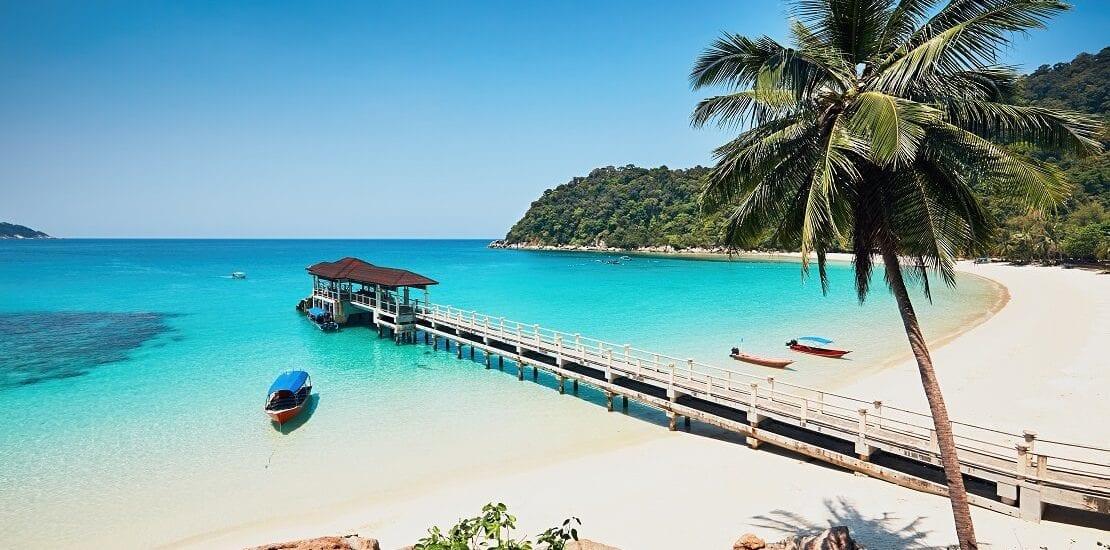 Tauchen in den bunten Gewässern bei Malaysia