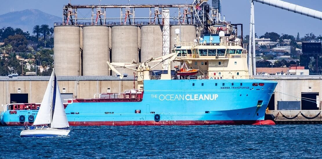 The Ocean Cleanup beseitigt Müllinseln im Ozean