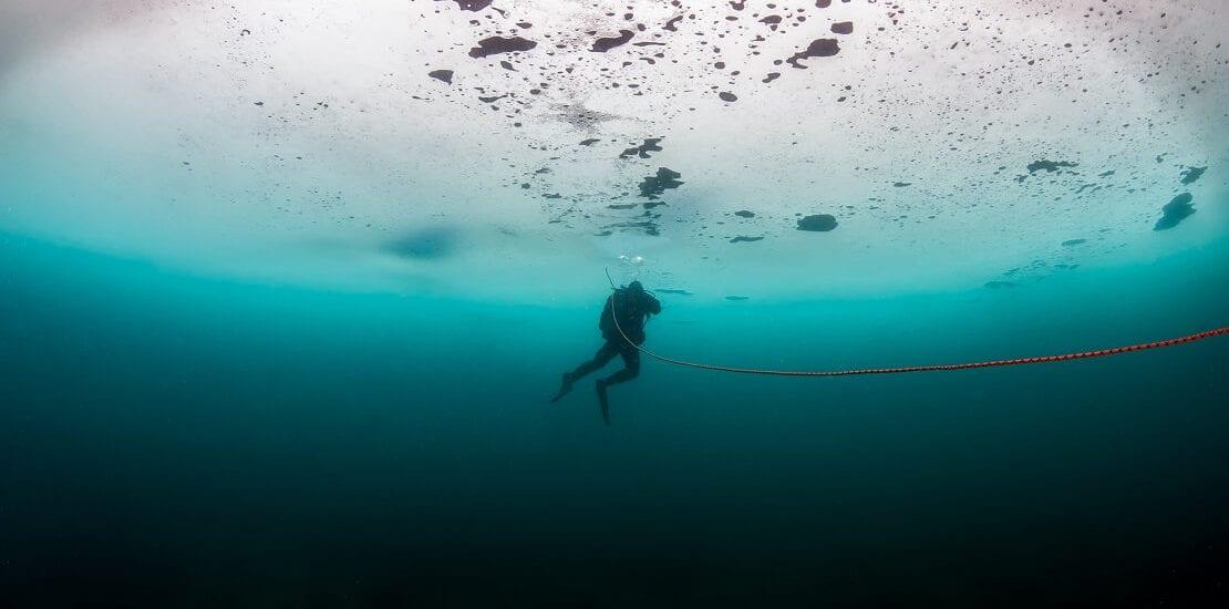 Eiswasser – Tauchen in kalten Gewässern ist ein besonderes Erlebnis