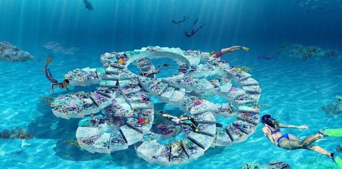 Künstliches Riff und Unterwasserpark in Miami geplant