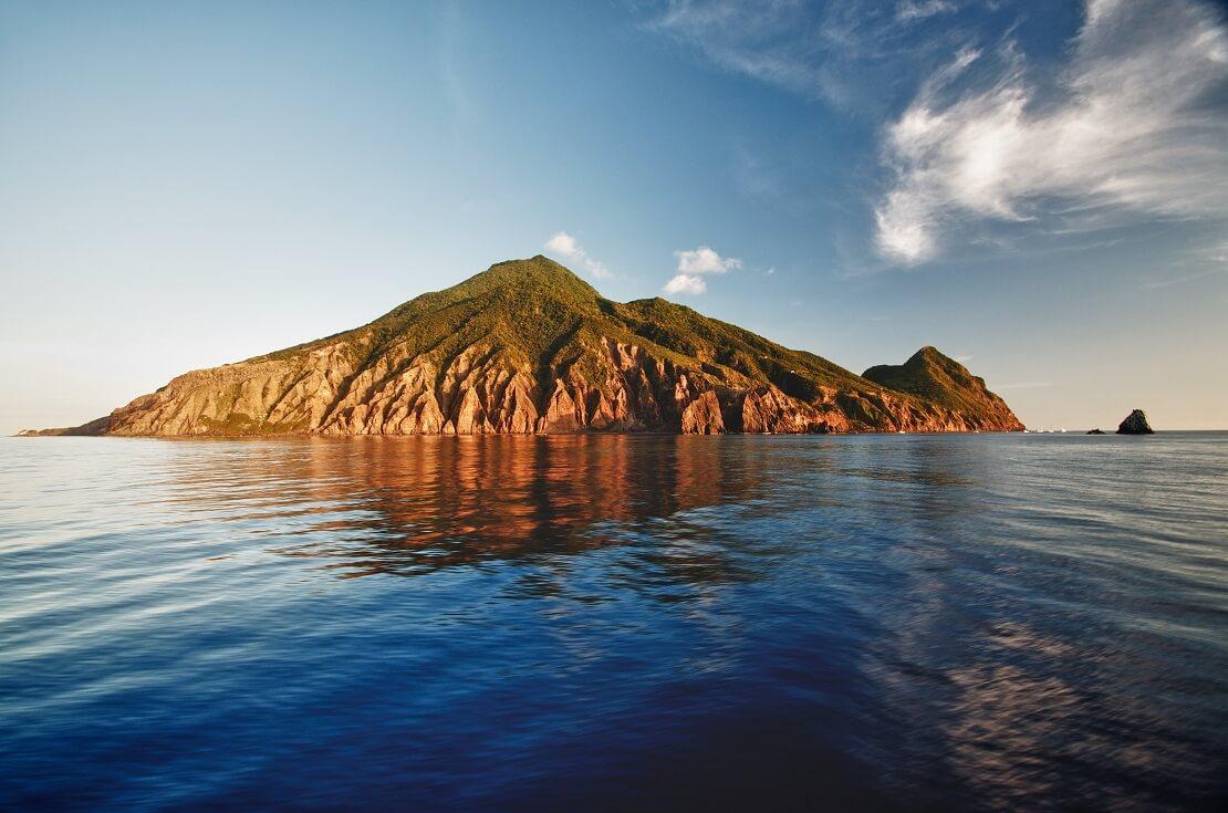 Insel Saba in der Karibik