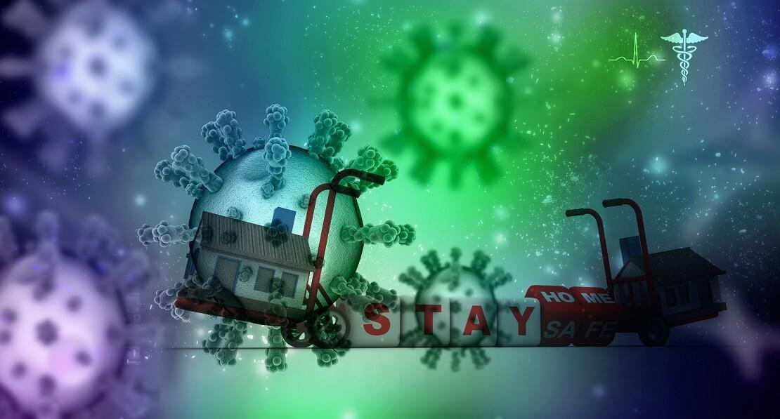 Coronavirus Zuhause bleiben