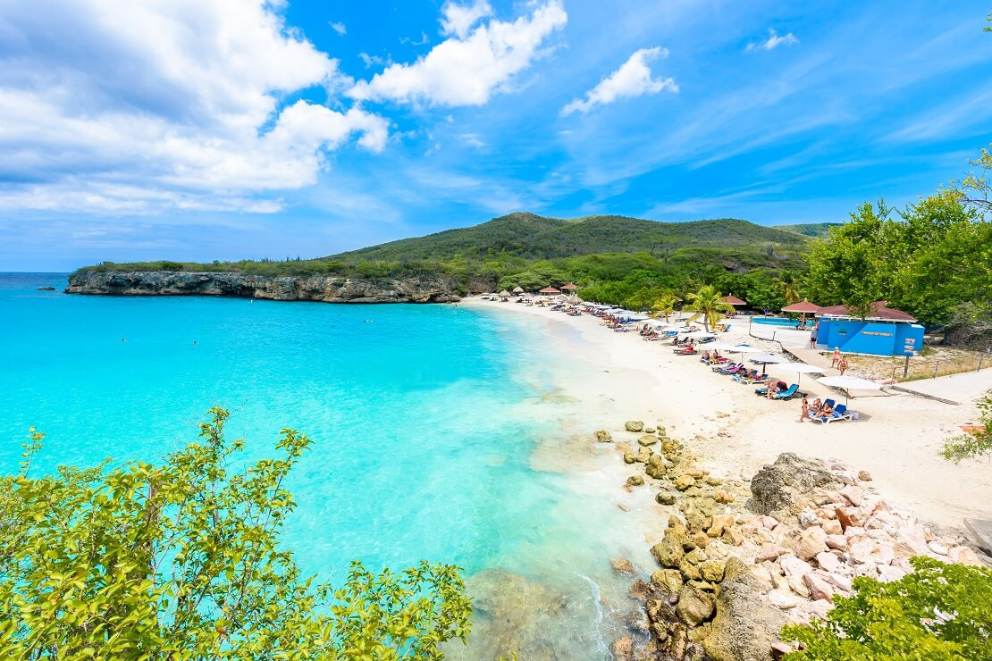 Küste von Curacao in der Karibik