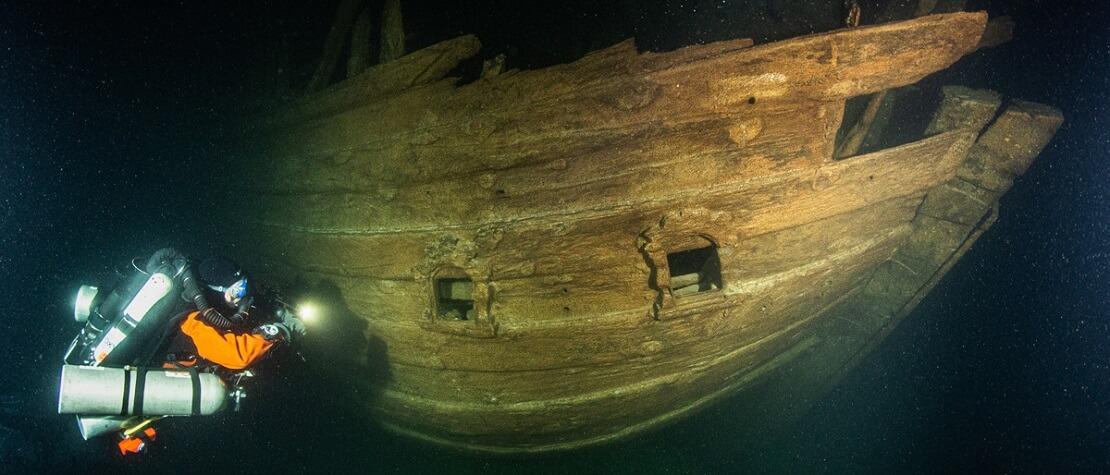 Handelsschiff aus dem 17. Jahrhundert: Spektakulärer Fund in der Ostsee
