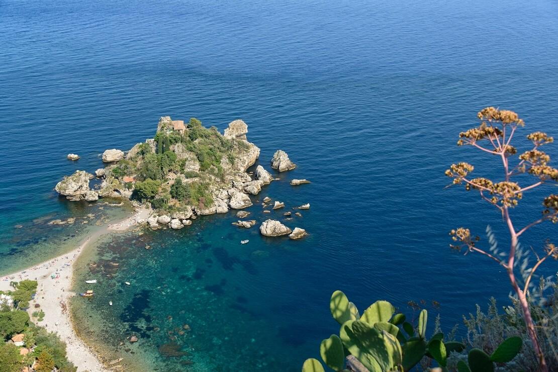 Die Isola Bella bei Ebbe