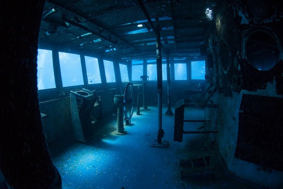 USS Kittiwake Innenraum