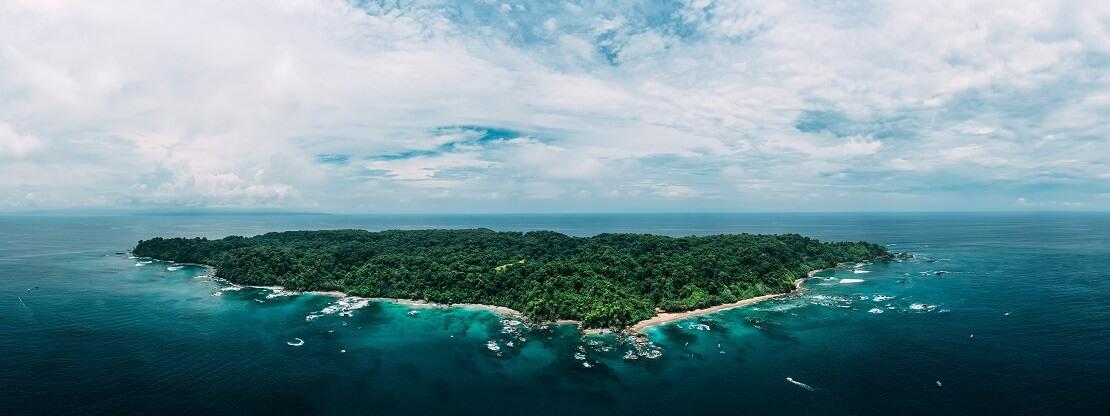 Isla del Caño: Eine unbewohnte Insel vor Costa Rica