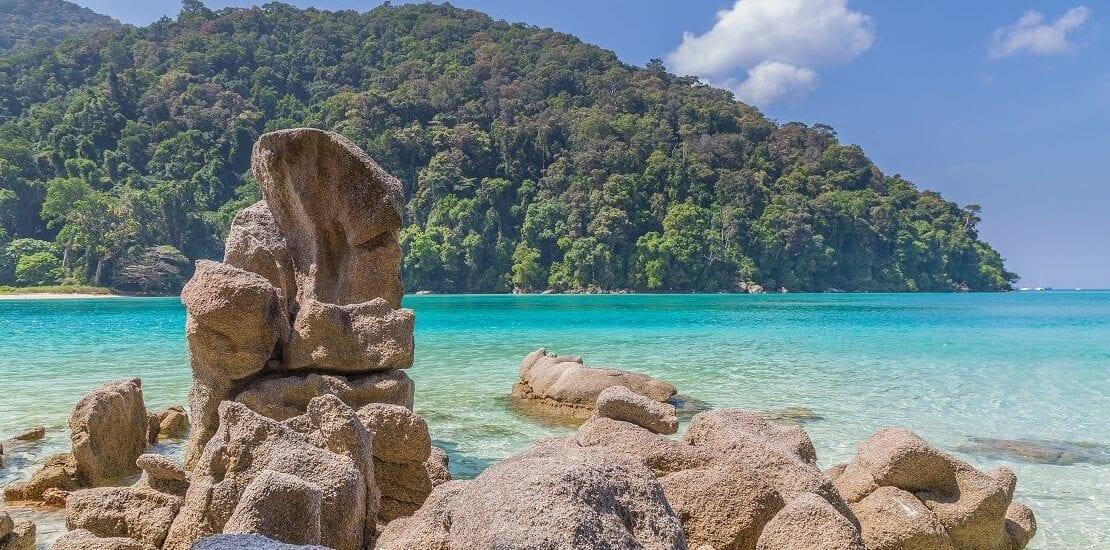 Tauchen vor Koh Surin - unberührte Unterwasserwelt am Rande des Regenwaldes