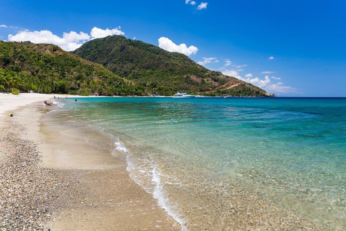Strand von Mindoro
