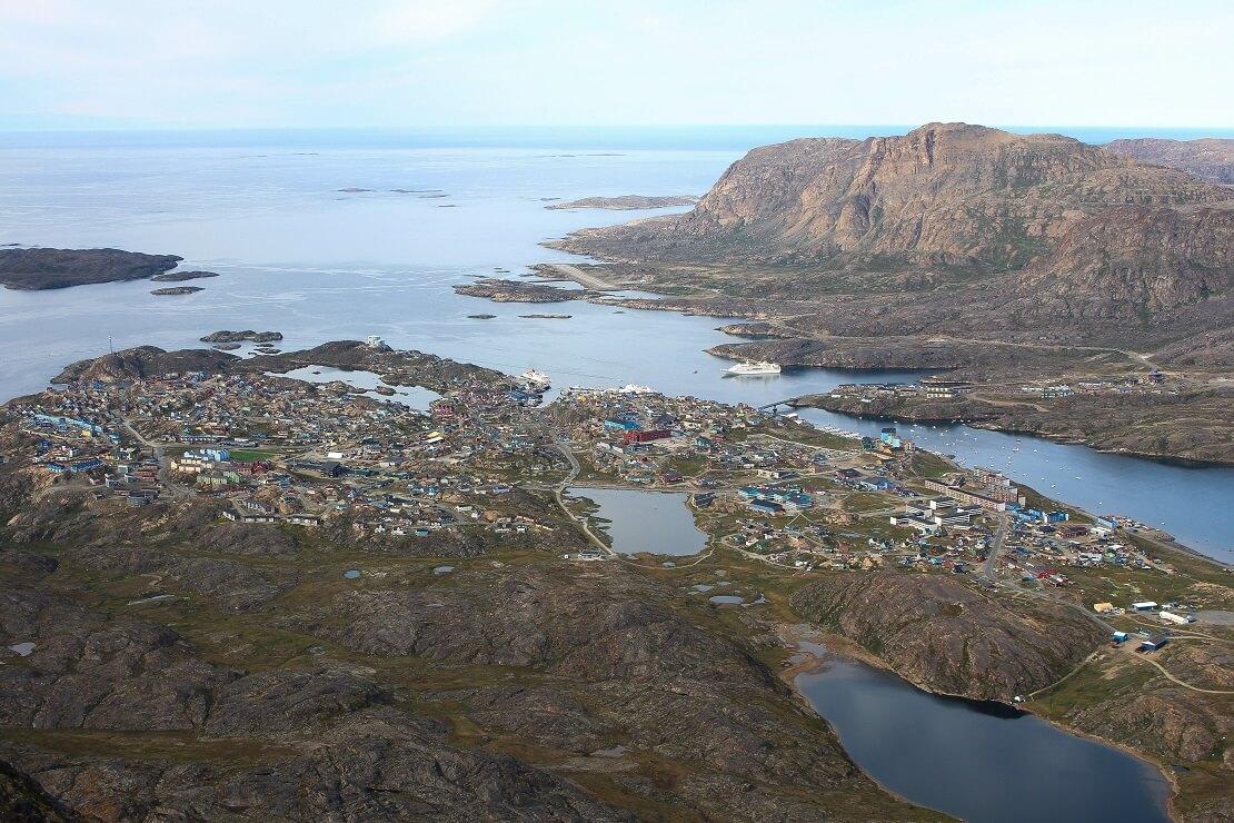 Sisimiut im Südwesten Grönlands