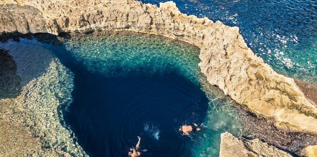 Im Zentrum des Mittelmeers: Wracks und ein Blue Hole auf Gozo
