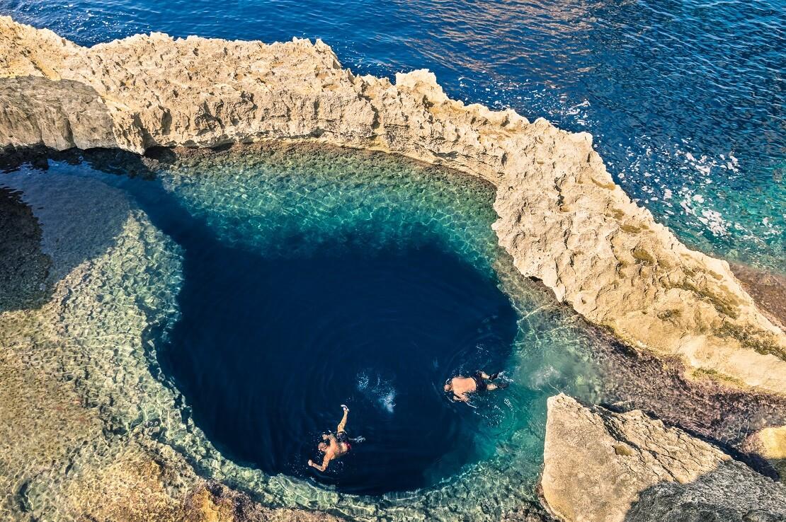 Das Blue Hole mit den Azure Window