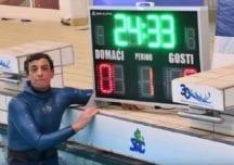Tauchen mit reinem Sauerstoff: Šobat sammelt mit seinem Weltrekord Spenden