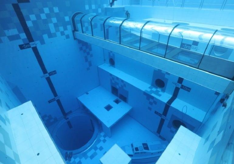 Deepspot: Der tiefste Indoor-Pool der Welt
