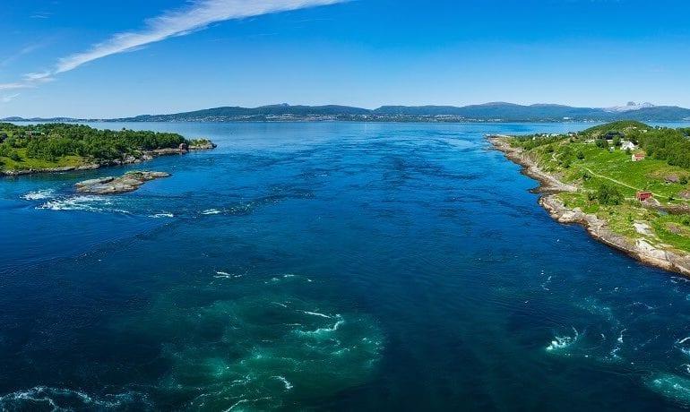 Norwegen: Im Saltstraumen werden Tauchgänge von den Gezeiten bestimmt