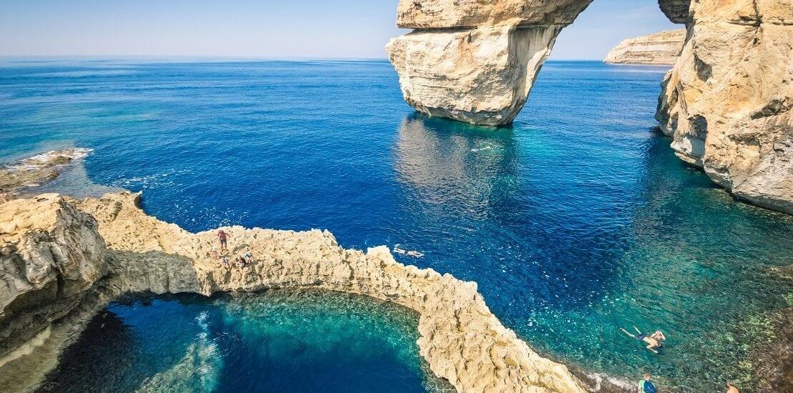 Gozo: Der Einsturz des Azure Window brachte neuen Tauchspot