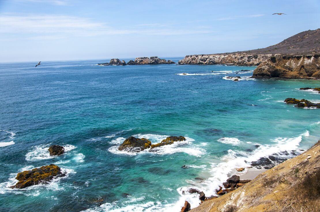 Die Küste der Isla de la Plata