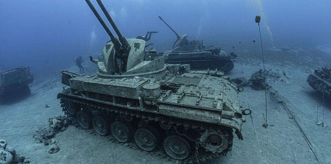 Militärmuseum auf dem Grund von Aqaba