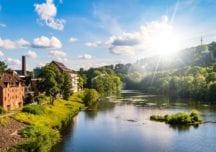 Flusstauchen in der Ruhr