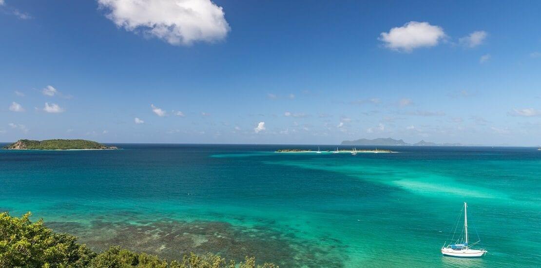 Grenada: Tauchen über einem Vulkan bei Carriacou