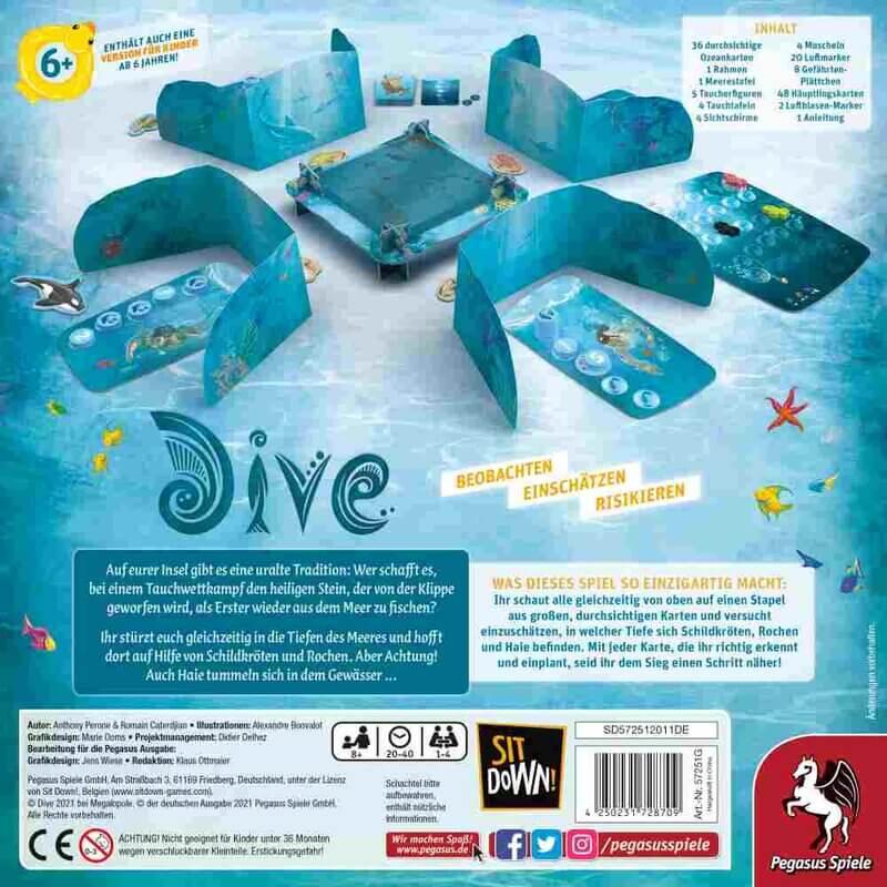 Tauchspiel Dive