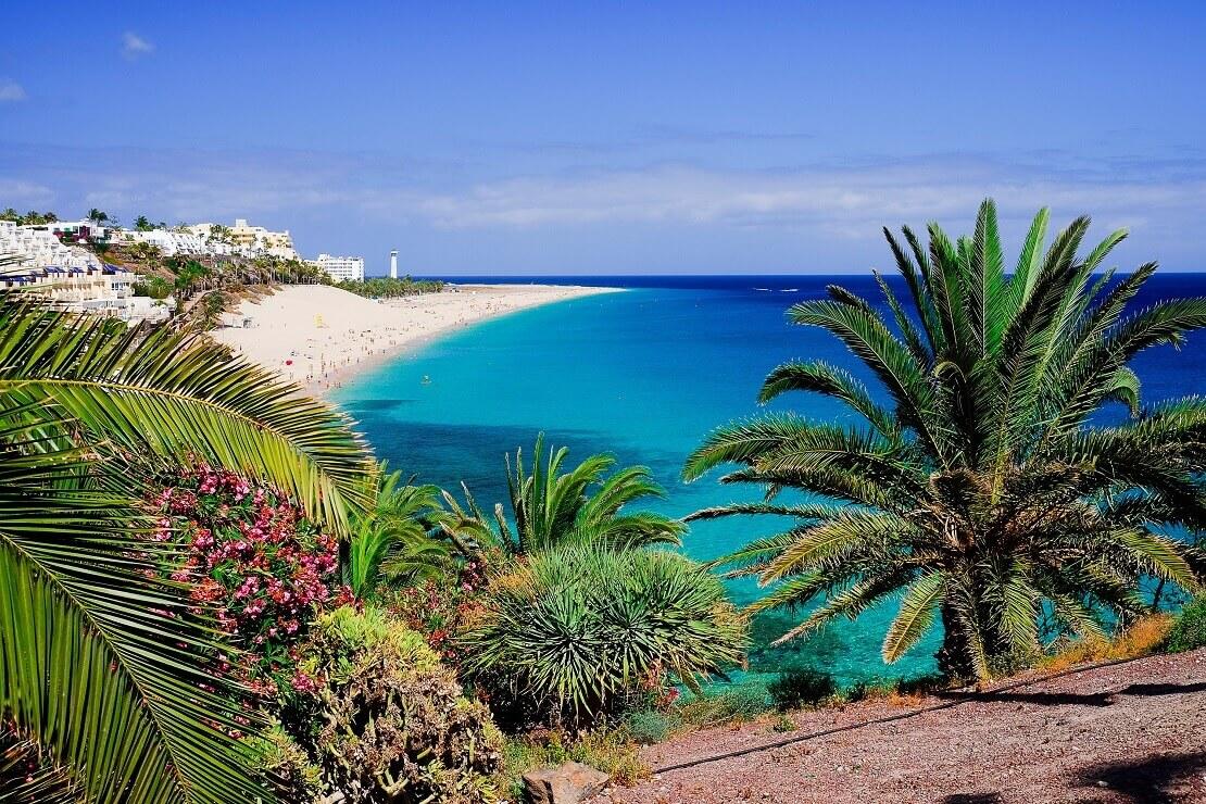 Der Strand von Morro Jabre in Fuerteventura