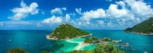 Die größte Steilwand Thailands im Andamanensee