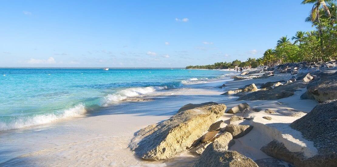 Dominikanische Republik: Glasklare Sicht in den Gewässern der Isla Catalina