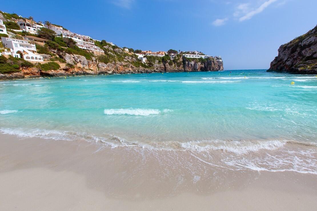 Der Strand von Menorca