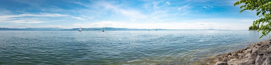 Rekord-Versuch: Fabio Tunno taucht im Bodensee