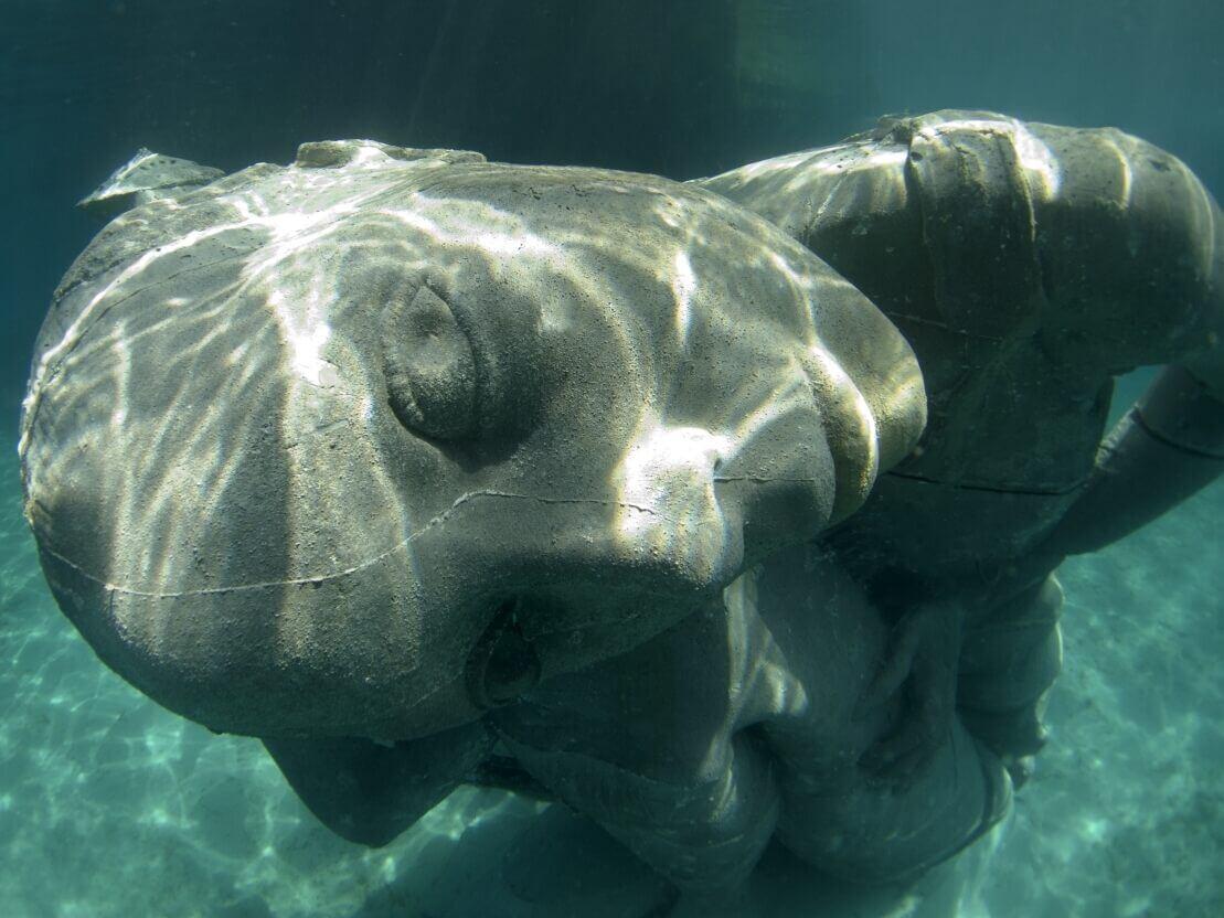 """Skulptur """"Ocean Atlas"""""""
