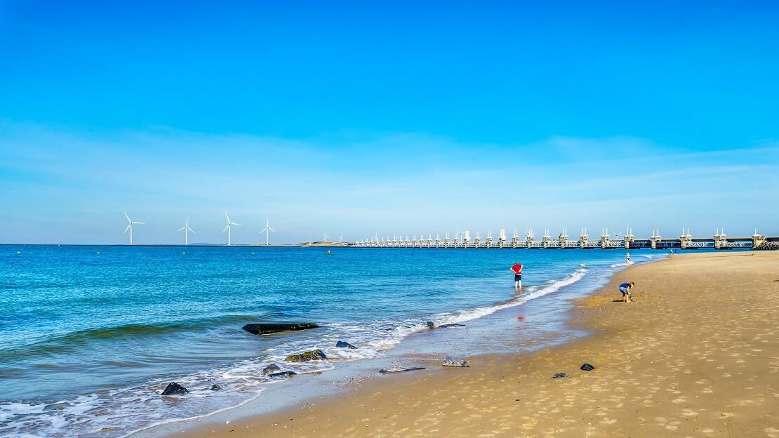 Der Strand der Oosterschelde