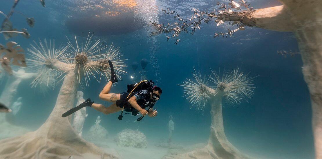 Zypern: Neues Unterwassermuseum mit Skulpturen von Taylor